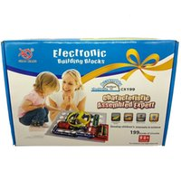Wholesale electric circuit toys resale online - toys for Kinds Capture circuit Electronics Discovery Kit Electronic Building Blocks Assembling Toys for Kids