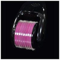 akne izleri dermaroller toptan satış-540 İğneler ile paslanmaz Çelik Mikro İğneli Rulo MT Microneedle Rulo Dermaroller Streç Işaretleri Akne Skar Kaldırma Için Çoklu Boyutları