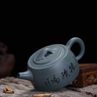 teteras yixing al por mayor-Yixing Zisha Tetera Tetera Pot 150 ml Kung Fu Juego de té hecho a mano Teteras Cerámica China Cerámica Arcilla Hervidor de Regalo Seguro
