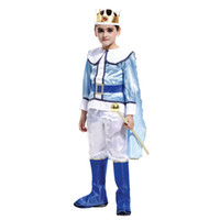 Wholesale costumes king prince for sale - Group buy Kids Child Noble Medieval Europe Royal Prince King Costume for Boys Halloween Carnival Masquerade Mardi Gras Party Outfit