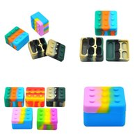 Wholesale build boxes resale online - 50mm Silicone Storage Box Mini Building Block Modeling Container Square Portable Boxes Various Styles new arrival gl B2