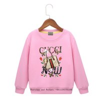 Wholesale baby boys new clothing resale online - Children s Clothes Cartoon Spring New Pattern Male Girl Sleeve Head Sweater Colors Hoody Baby Clothing Boys brand Hoodie