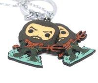 gerechtigkeit halskette großhandel-Film Schmuck Marvel Superhero Halskette DC Aquaman Justice League Niedlichen Keychain Cosplay Anhänger Halskette