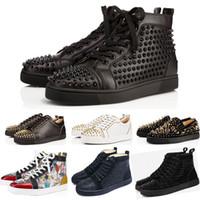 Großhandel Designer Marke Liebhaber Schuhe Spikes Strass