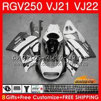 Wholesale fairing 1989 for sale - Group buy Fairing For SUZUKI RGV SAPC RGV VJ22 Frames grey white hot HC RGV250 VJ21 Body