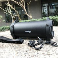 Wholesale high bass mp3 player resale online - HOT Smalody Bluetooth Speaker Outdoor Wireless Stereo High Bass with Carrying Strap For Camping Party Big Speakers Good Sound Better Charge2