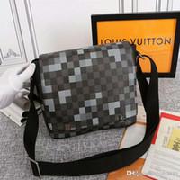 sac d'affaires décontracté achat en gros de-Nouvelle mallette d'épaule simple Cross casual clutch sac ordinateur de mode sac bandoulière réglable pour le transport confortable: 2