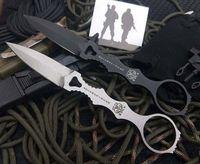 cuchillos voladores al por mayor-2019 nuevo BM 176 de alta calidad BM D2 blade 176 cuchillo táctico cuchillo volador defensivo lucha daga con rápido tirón K envoltura envío gratis