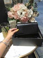 ingrosso borse fasion-designer borse di lusso borsa da donna tracolla a catena borsa del progettista borse alligatore fasion borsa da donna Y