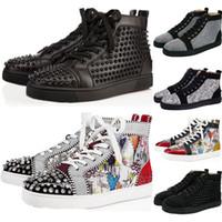 роскошные кроссовки оптовых-christian louboutin sneakers Баскетбольная обувь ый выпускной вечер WIN LIKE 82 96 UNC PRM Heiress Gamma Синий платиновый оттенок Bred Concord mens shoe sports Sneaker