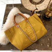 sacs à main en tissu pour femmes achat en gros de-Sacs à bandoulière designer femmes sacs à bandoulière luxe sac de plage classique grande capacité haute qualité dames sacs à bandoulière en tissu