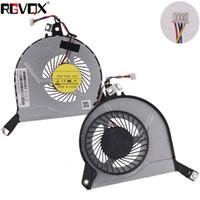 hp dizüstü bilgisayar cpu fanı toptan satış-HP Pavilion 15-P serisi için yeni Dizüstü Soğutma Fanı Orijinal P / N EG50060S1-C120-S9A DFS200405040TT CPU Soğutucu Radyatör