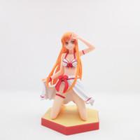 seksi kılıç toptan satış-Sword Art Online AsunaYuuki Mayo Seksi Anime Eylem Şekil Sanat Kız Big Boobs Tokyo Japonya Anime Oyuncak Seks Bebek Yetişkin PVC Ürünler