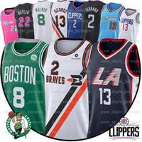 ingrosso basket maglie paul george-Kawhi Leonard 2 Jersey NCAA Uomini Paul 13 George Jimmy Butler 22 Kemba Walker 8 Basketball Maglie