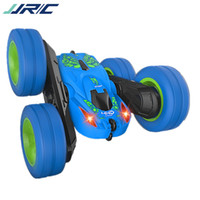 Wholesale unit remote resale online - JJRC Q9 Remote Control Car Model Toy Cool Electric Double sided Rolling Stunt Car Flip Car Ample Power High Speed for Kid Birthday Gift