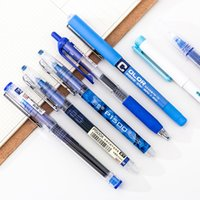Wholesale kawaii highlighters for sale - Group buy 7pcs set Simplicity Color Large Gel Pen Set mm Quick drying Straight Pens Highlighter Writing for School Stationery Kawaii