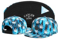 ingrosso cappelli in linea trasporto libero-Navy BUBBA Kush Cayler Sons Cappello Weezy Snapback Cappelli a buon mercato Cappellini Cayler And Sons Snapbacks Cappelli online Cappellini sportivi