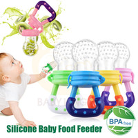 Wholesale milk feeders for sale - Group buy Baby Soother Pacifier Newborn Infant Soother Fresh Fruit Food Milk Nibbler Feeder Safety Silicone Toddlers Puting Teat