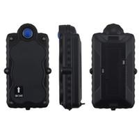 gps lityum piller toptan satış-Manyetik izci ile GPS izci TK05G 3G WCDMA 5000 mAh Çıkarılabilir şarj edilebilir Lityum pil GPS + GSM + WIFI konumlandırma