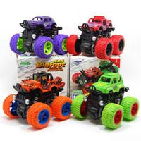 ingrosso auto da corsa per i bambini-Inerzia quattro ruote motrici Fuoristrada Cros SUV inerzia Toy Car bambini realistici giocattoli modello Jeep per i giocattoli per bambini