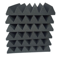 Acoustic Foam In Wedge Shape For Sound Absorption Free Shipping by Epacket