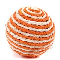 Wholesale woven cat toy for sale - Group buy Dog Cat Kitten Pet Teaser Sisal Rope Weave Balls Play Chewing Catch Toys Funning
