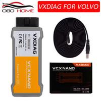 herramienta de diagnóstico vida al por mayor-2018 Venta caliente 100% original VXDIAG VCX NANO para Volvo Car Diagnostic Tool mejor que para Volvo Vida Dice 2014D