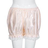 ingrosso bikini rosa caldo delle donne nere-Le donne allentano l'elasticità Pantaloni caldi Bloomers Pantaloncini di sicurezza casuali di estate Pantaloncini di sicurezza nero bianco rosa formato libero