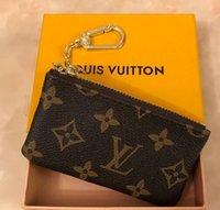 bolsa de mala de design venda por atacado-França estilo Design bolsa de moedas homens mulheres senhora Luxo bolsa de moedas de couro carteira chave mini carteira número de série