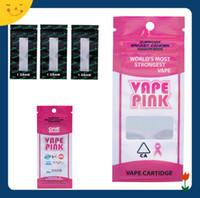 ingrosso sacchetti del pacchetto di vendita al dettaglio-VAPE PINK Retail Package 1g 1gram Zipper Bag cartuccia di imballaggio botanicals sacchetto di cartucce per Cali Plug Thick Oil Vape Cartridges