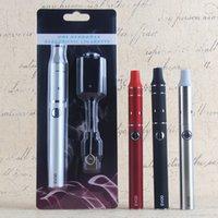 ego g5 kuru bitki buharlaştırıcı kalem toptan satış-Ego Mini Buharlaştırıcı Atomizer Tank Evod G5 Kuru Ot Blister Başlangıç Setleri 650mAh Vape Pil Bitkisel E-Sigara Vape Kalemler