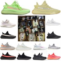 ton kunst großhandel-2019 V2 Kanye West True Form Hyperspace Clay Static Herren Laufschuhe Beluga 2.0 Cream Stock X Damen Designer Sport Sneakers Box