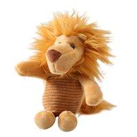 ingrosso sacchi di regalo del leone-Elefante leone peluche bambola ciondolo portachiavi auto portachiavi borsa appeso arredamento regalo nuovo caldo
