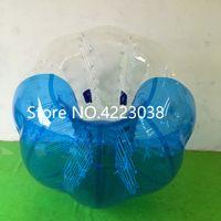 fútbol burbuja para la venta al por mayor-Envío gratis Bubble Soccer Zorb Ball 0.8mm PVC 1.5M Air Bumper Ball adultos inflable burbuja de fútbol, Zorb Ball para la venta