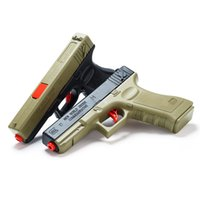 Wholesale boys weapon toys for sale - Group buy Water Bullet Glock Gun Toy for Boys Pistol Manual Outdoors Weapon Shoot Guns Game Toys Children Kids Gifts Random Color
