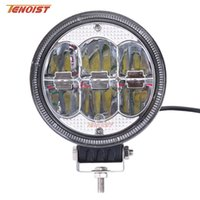 Wholesale tractor headlights for sale - Group buy Hot Sale New quot Inch Round W LED Front Bumper Car Dome Light Headlight Worklight for Offroad SUV ATV Tractor Boat Wrangler