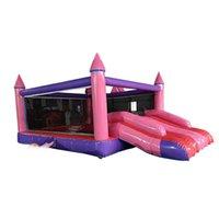 прыгающие замки для оптовых-Раздувной замок, скача замок внутреннего и наружного использования для детей