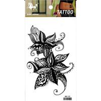 ingrosso lune del tatuaggio-ragazza e ragazzi 2019 fashion brand new 10 pz / lotto luna fiore a cinque stelle serpente impermeabile braccio provvisoria tatuaggio adesivo body art tattoo