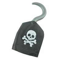 ingrosso intaglio a muro appeso-Nave a tema Capitano Party Cos Giocattolo per Halloween Vestito Plastica Pirate Hook Cucina Accessori da bagno Tappeti Ganci Hot #YY