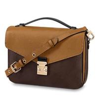 calidad del bolso del diseñador al por mayor-El diseñador del bolso de lujo Crossbody del mensajero de los bolsos de hombro M40780 buena calidad del diseñador de los monederos de las señoras bolso M44876