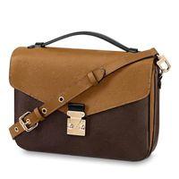 çapraz vücut çantası toptan satış-Tasarımcı Çantası Lüks Crossbody Messenger Omuz Çantaları İyi Kalite Tasarımcı Cüzdanlar Bayan Çanta M44876 M40780
