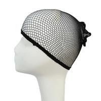 perücke strumpf cap großhandel-Deluxe Wig Cap HairNet Für die Herstellung von Perücken Black Brown Stocking Perücke Liner Cap Snood Mesh Cap