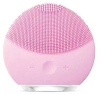 masaj yüz temizleme fırçası toptan satış-Luna Silikon Yüz Temizleme Elektrikli Titreşimli Gözenek Temizleme Fırçası Yüz Masaj Aracı Derin Temizleyici Cilt Esnekliğini Artırmak