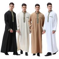 ingrosso sciarpe mediorientali-Collare della decalcomania degli uomini musulmani arabi del Medio Oriente 2019,