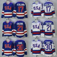 pavel datsyuk hiver classique jersey achat en gros de-17 Jack O'Callahan 1980 Miracle On Ice Équipe États-Unis Hockey 30 Jim Craig 21 Mike Eruzione Maillot de Hockey Cousu Hommes Livraison Gratuite