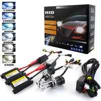 Wholesale hid xenon kit 55w h1 resale online - Xenon H7 W AC W Slim Ballast kit HID Xenon Headlight bulb V H1 H3 H11 h7 hid kit k k Replace Halogen Lamp