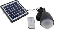 led lichter laterne fernbedienung großhandel-11 LED Solar Tragbare Laterne Birne Sensor Fernbedienung Licht IP65 Outdoor Wasserdicht Wandern Angeln Camping Zelt Notlicht LLFA