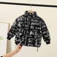 chaquetas de plumas coreanas al por mayor-Los niños y niñas de la chaqueta abajo chaqueta abrigo de invierno bebé capa de los niños espesada del algodón chaqueta de algodón de Corea del pan de bebé