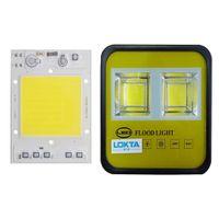 chips de alto lumen led al por mayor-5PCS / LOT LED COB viruta 30W 40W 50W 220V contra sobrevoltaje diseño inteligente IC de alta lumen para DIY reflector la luz del grano