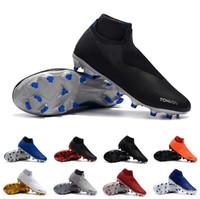 männer s fußball stiefel großhandel-2018 Neue Ankunft Phantom Vision Elite Fußball Schuhe für Top-Qualität Super Multicolor Herrenmode TF VSN DF AG-PRO Männer Boot Größe 39-45